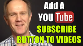 add a youtube subscribe button to all channel videos