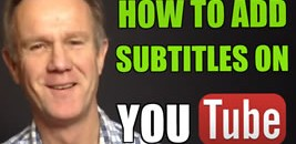 how to add subtitltes on youtube