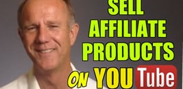 sell affiliate products on youtube