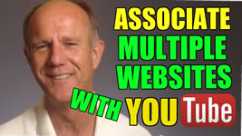 associate multiple websites with youtube