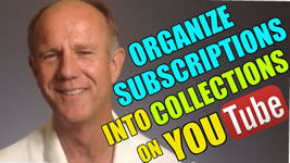 organize YouTube subscriptions