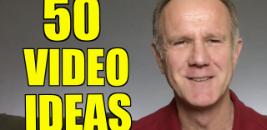 50 youtube video ideas