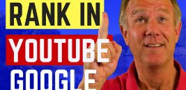 rank in youtube and google