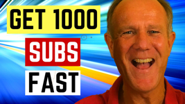 how to get 1000 youtube subscribers fast 2019