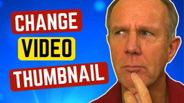 how to change video thumbnail on youtube