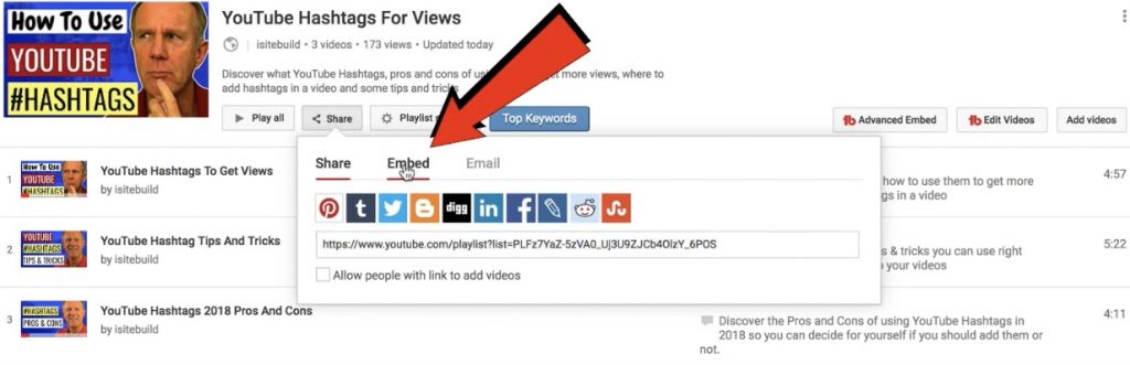 How To STOP Recommendations At End Of YouTube EMBEDDED Playlists