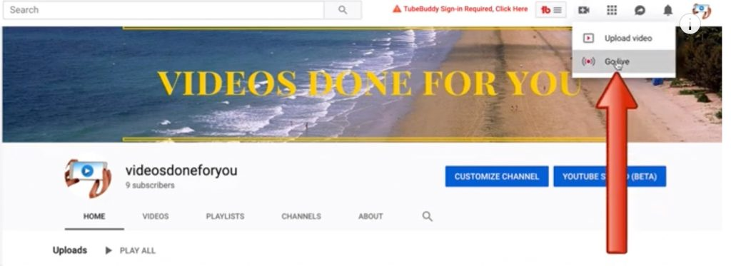 How To Go Live On YouTube Without 1000 Subscribers (Desktop