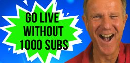 go love on youtube without 1000 subscribers