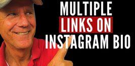 Share multiple links on instagram bio