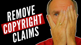 remove youtube copyright claims