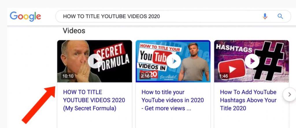 google carosel