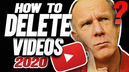 HOW TO DELETE VIDEOS ON YOUTUBE 2020 - Computer, iPad, iPhone, Android
