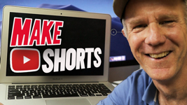 how to make youtube shorts on pc or laptop