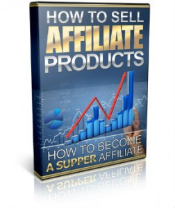 sell affiliate products