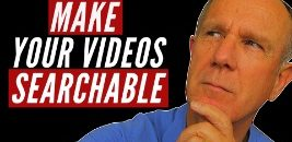 make youtube videos searchable-s