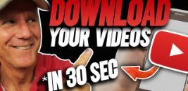 DOWNLOAD YOUR OWN YOUTUBE VIDEOS