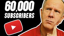 60,000 youtube subscribers