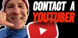 contact a youtuber
